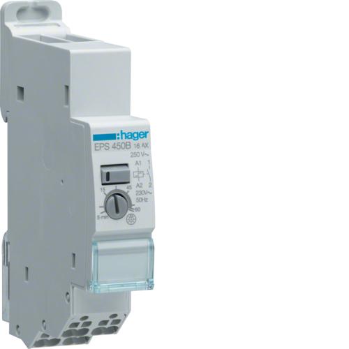 Ρελέ καστάνιας αθόρυβο ηλεκτρονικό με χρόνο λειτουργείας quickconnect 230V 1A 16A EPS450B