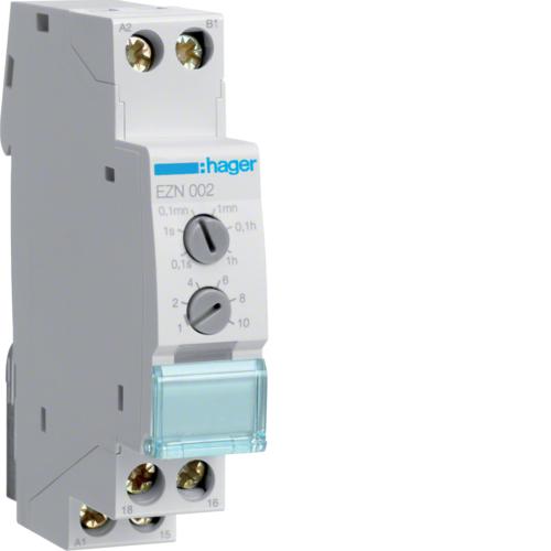 Ρελέ χρονικό 12V-48V AC/DC - 230V AC καθυστέρηση στη διακοπή EZN002