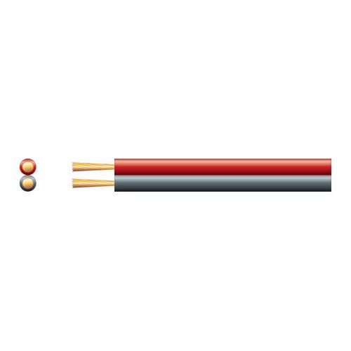 Καλώδιο ηχείων 2X0.35mm² Μαύρο-Κόκκινο