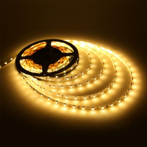 Ταινία LED 4,8W/m 60 led/m 3528 smd κίτρινο IP20