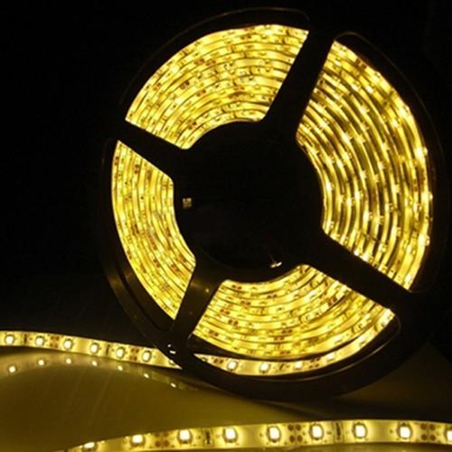 Ταινία LED 4,8W/m 60 led/m 3528 smd κίτρινο IP65