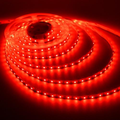 Ταινία LED 4,8W/m 60 led/m 3528 smd κόκκινο IP20