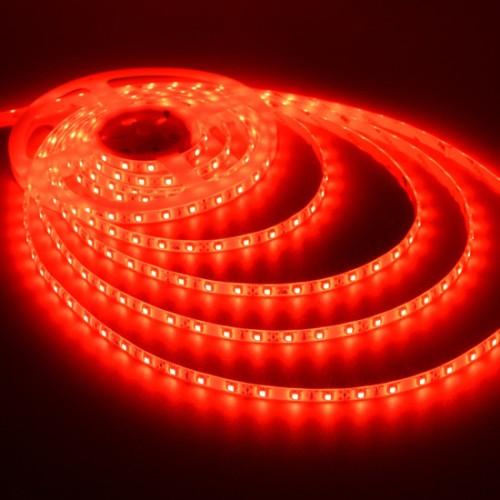 Ταινία LED 4,8W/m 60 led/m 3528 smd κόκκινο IP65