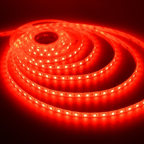 Ταινία LED 14,4W/m 60 led/m 5050 smd κόκκινο IP65