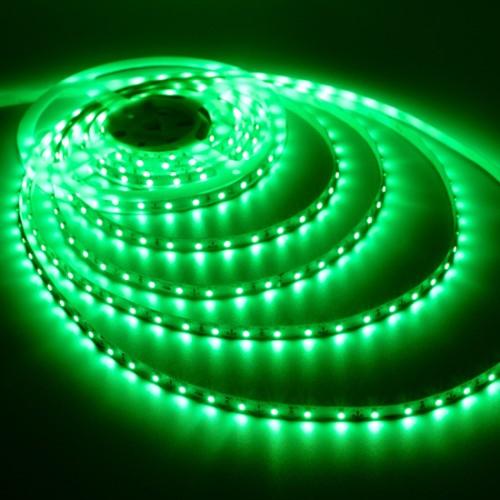 Ταινία LED 4,8W/m 60 led/m 3528 smd πράσινο IP20