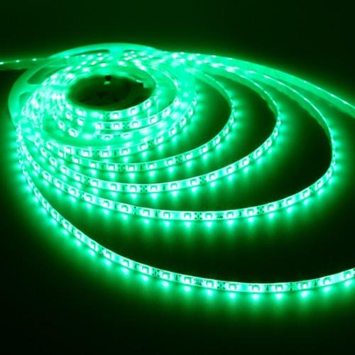 Ταινία LED 4,8W/m 60 led/m 3528 smd πράσινο IP65