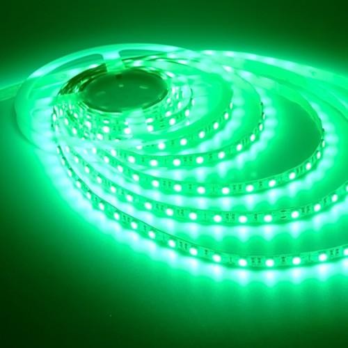 Ταινία LED 14,4W/m 60 led/m 5050 smd πράσινο IP20