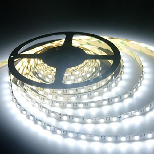 Ταινία LED 14,4W/m 60 led/m 5050 smd ψυχρό λευκό IP20