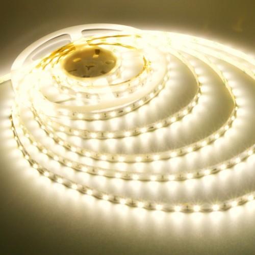 Ταινία LED 4,8W/m 60 led/m 3528 smd θερμό λευκό IP20