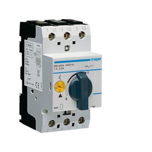 Θερμομαγνητικός διακόπτης προστασίας τριφασικός 1,6-2,5Α MM507N