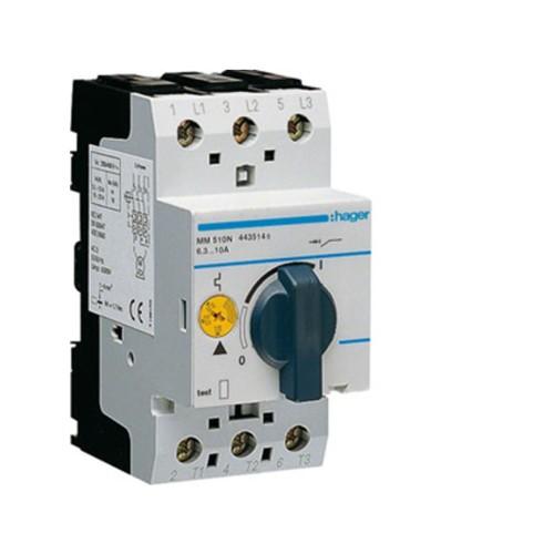 Θερμομαγνητικός διακόπτης προστασίας τριφασικός 6,3-10Α MM510N