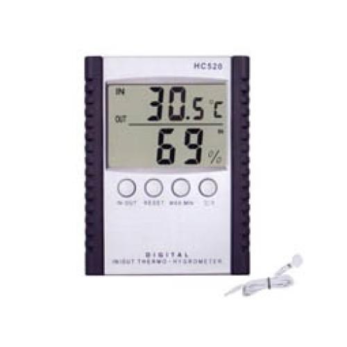 Θερμόμετρο υγρόμετρο ψηφιακό με αισθητήραHC-520 CHR