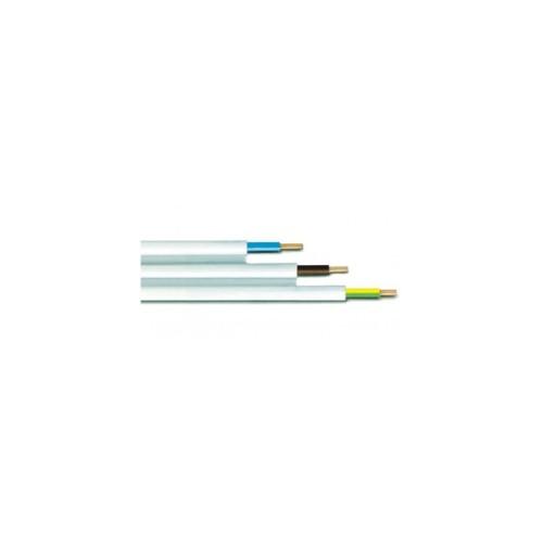 Καλώδιο NYIFY (Πλακέ) 3X1.5mm² Λευκό
